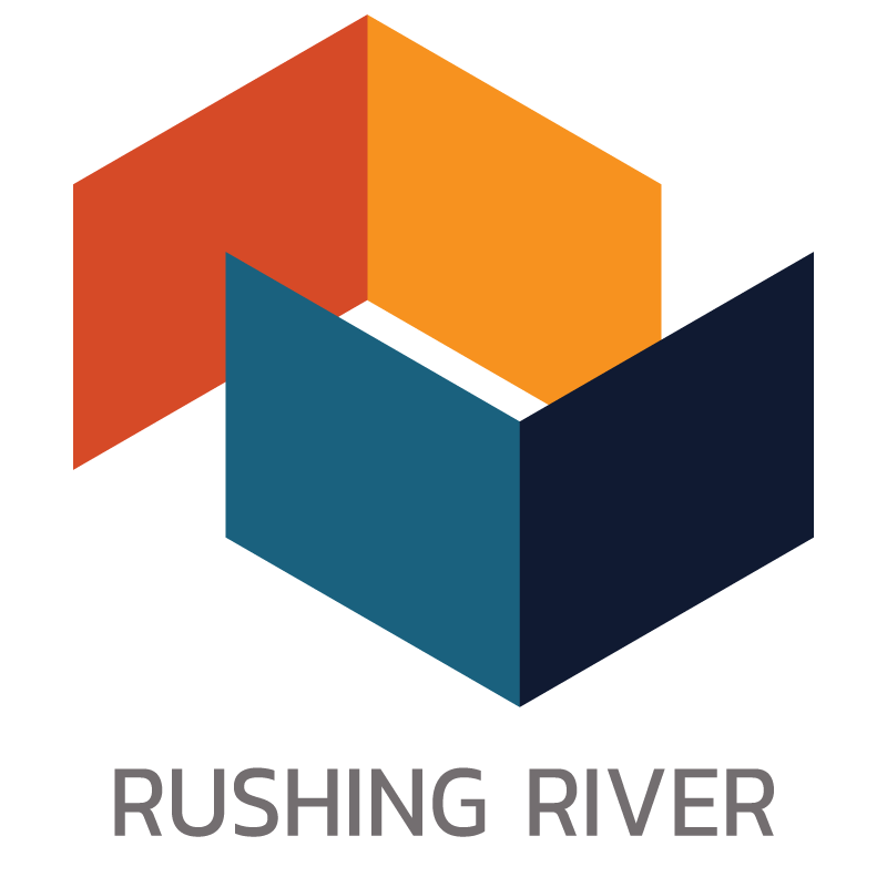 rushing river logo