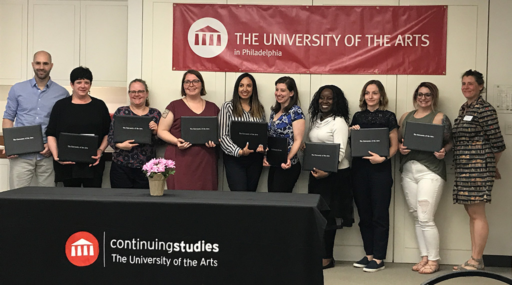 students graduating from uarts spring of 2018